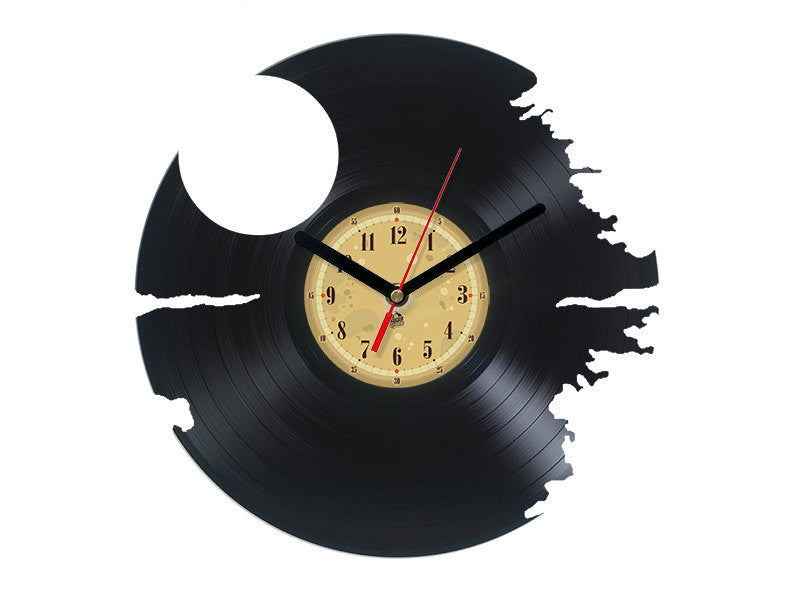 Vinyl Clock - Death Star