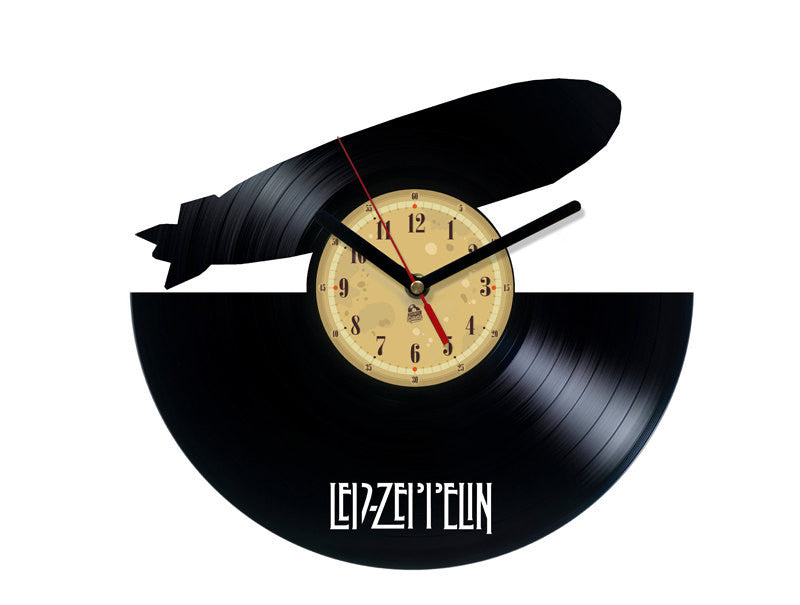 Vinyl Clock - Led Zeppelin