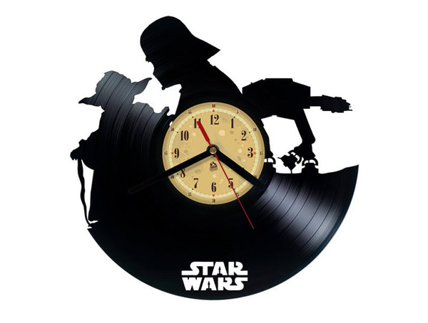 Vinyl Record Clock - Star Wars