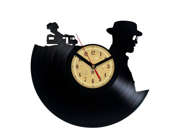Vinyl Clock -  Breaking Bad