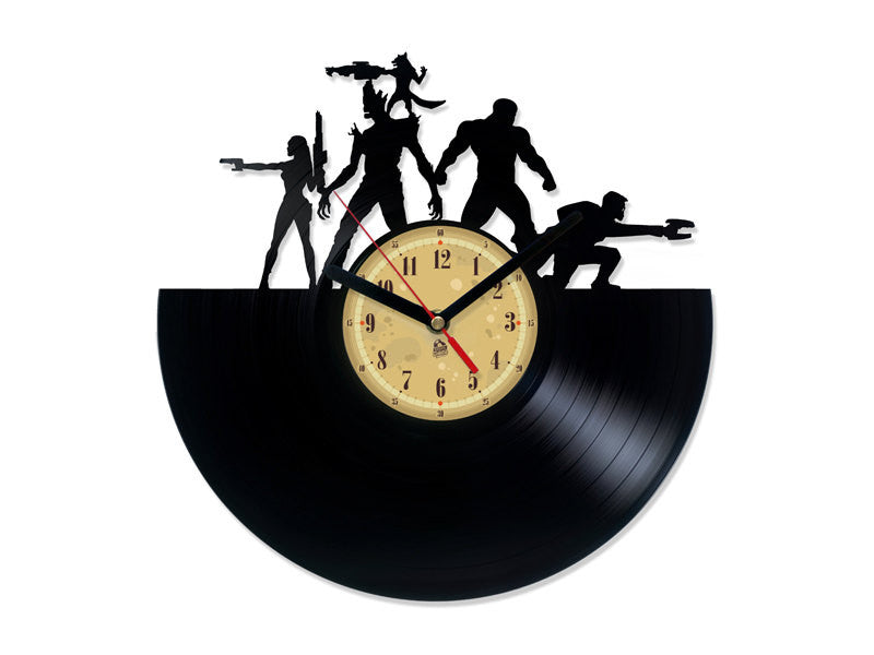 Vinyl Clock - Guardians of the Galaxy