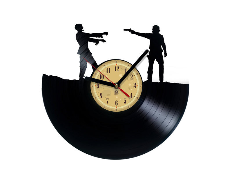 Vinyl Clock - Rick - Walking Dead