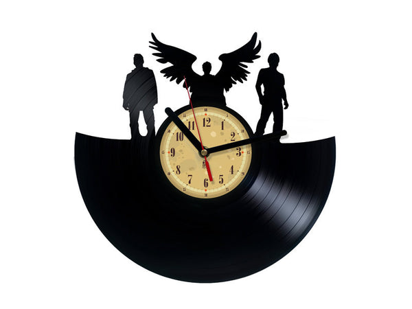 Vinyl Record Clock - Supernaturals