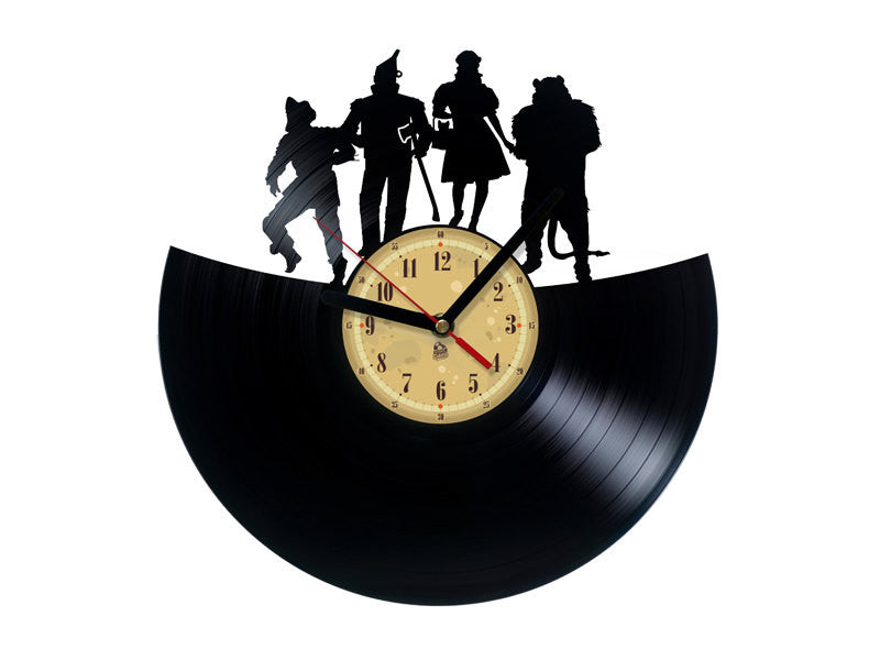 Vinyl Record Clock - Wizard of Oz