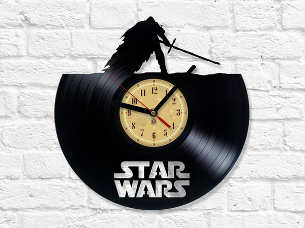Vinyl Record Clock - Star Wars - The Force Awakens
