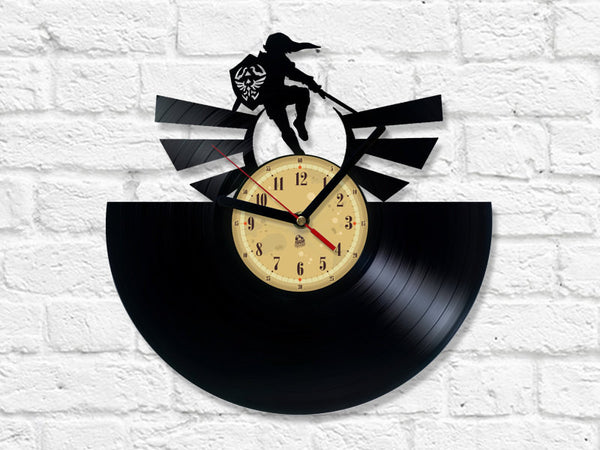 Vinyl Record Clock - The Legend of Zelda