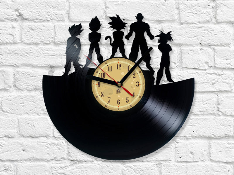 Vinyl Clock -  Dragon Ball