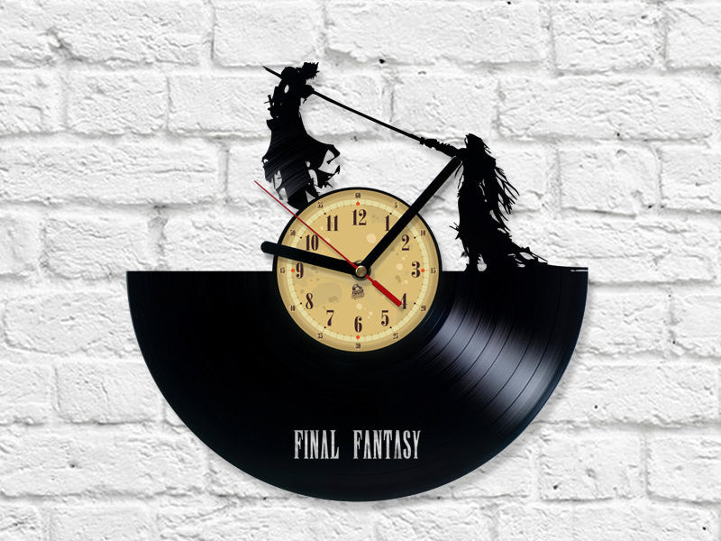 Vinyl Clock - Final Fantasy