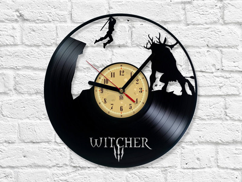 Vinyl Clock - Witcher