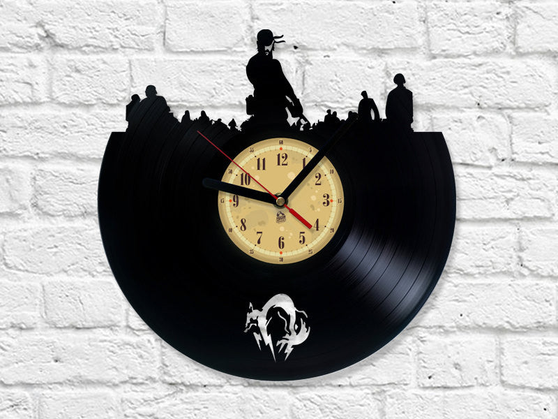 Vinyl Clock - Metal Gear Solid
