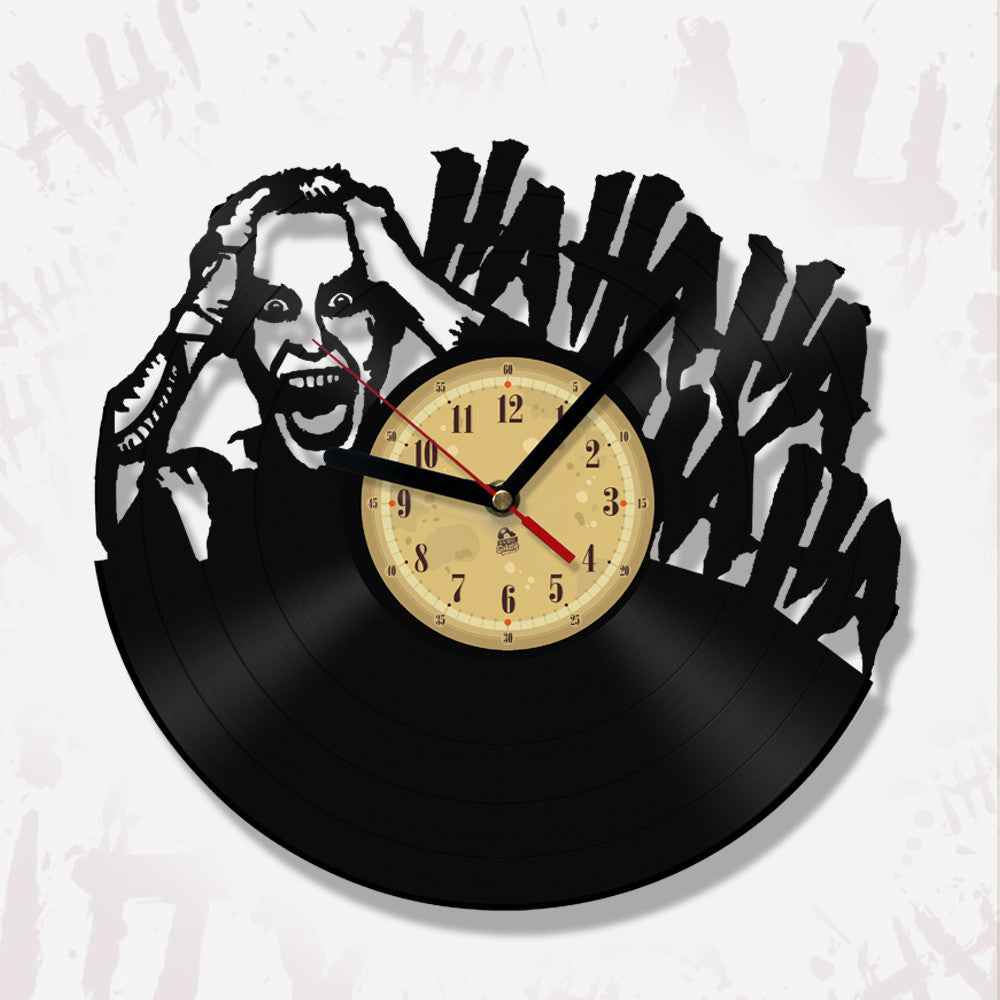 Vinyl Record Clock - I'm not gonna kill you...