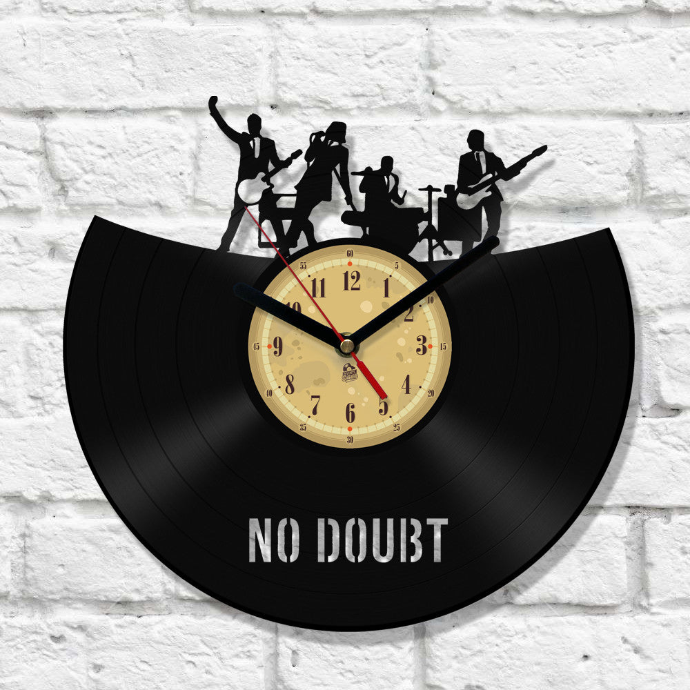 Vinyl Clock - No Doubt