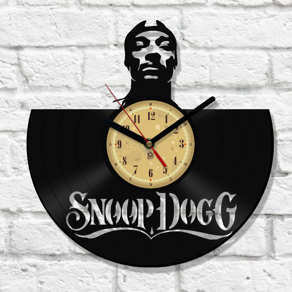 Vinyl Record Clock - Snoop
