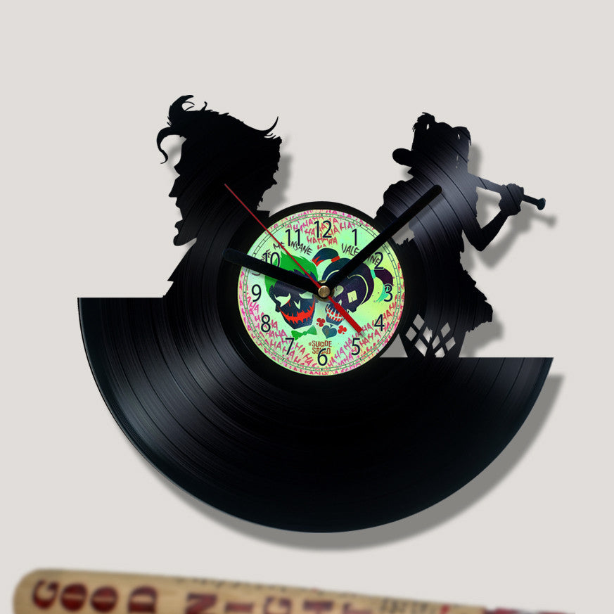 Vinyl Record Clock - U Drive Me Insane