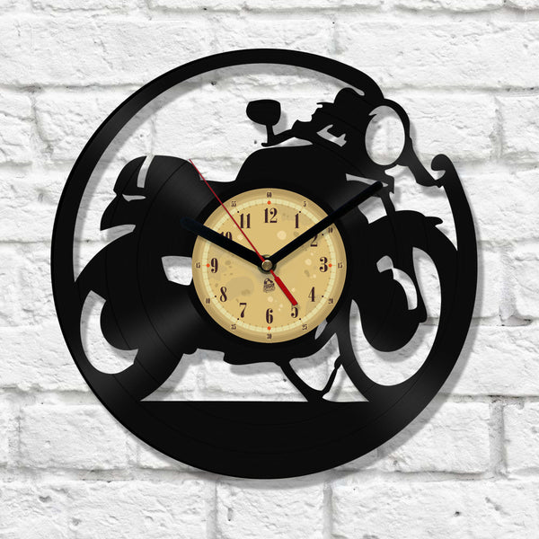 Vinyl Clock - Cafe Racer