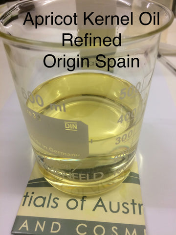 Apricot oil Refined Europe  <br><i><small>prunus armeniaca</small></i></br>