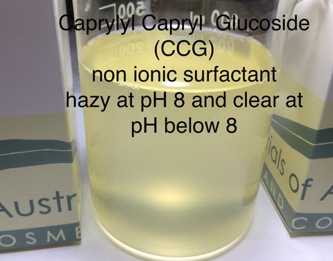 Caprylyl Capryl  Glucoside (CCG) Surfactant