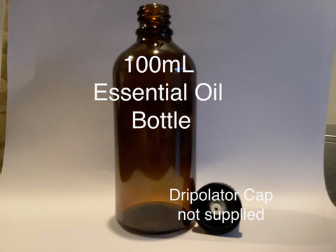 100ml Amber Glass Essential Oil Bottle