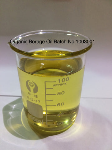 Borage  Oil  Organic USA <br><i><small>borage officinalis</small></i></br>
