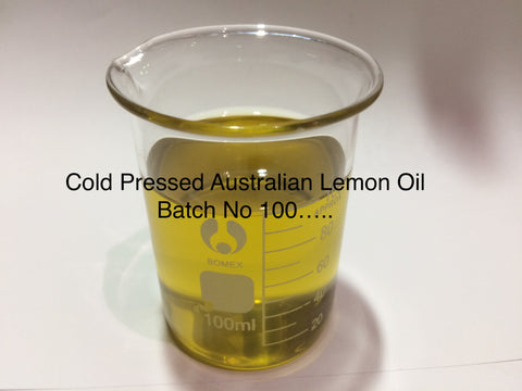 Lemon Essential Oil Aust**