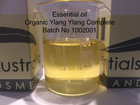 Ylang Ylang Essential Oil Complete organic