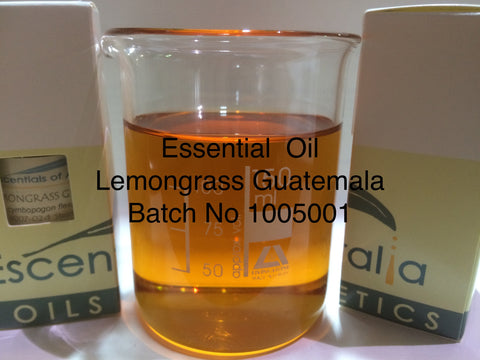 Essential Oil of lemongrass guatemala
