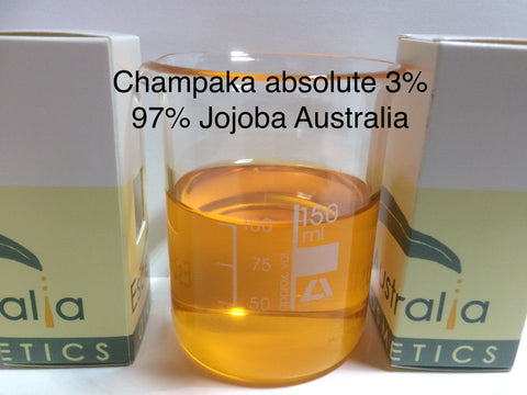 champaca absolute 3% dilution in Jojoba