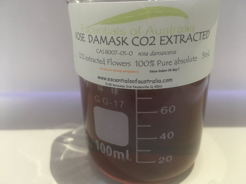 Rose Total CO2 extracted rosa damascene