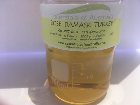 Rose Damask Turkey solvent extracted rosa damascene