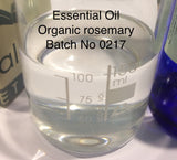 Rosemary Essential Oil Organic <br><i><small>rosemarinus officianlis</small></i></br>