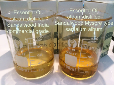 Sandalwood commercial grade essential oil