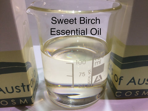 Sweet Birch Essential Oil