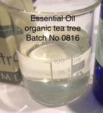 Tea Tree Essential Oil Organic Australia <br><i><small>malaleuca alternifolia</small></i></br>