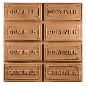 Goat Milk Tray Soap Mould 8 Cavity