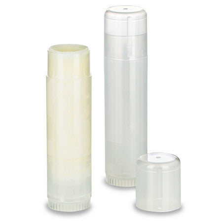 15gm natural  Polypropylene Twist Up Tubes with natural cap