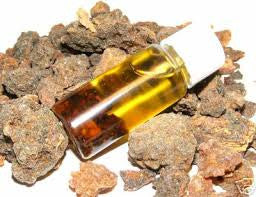 Myrrh Essential Oil Oman <br><i><small>commifora myrrha</small></i></br>