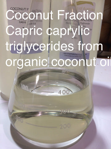 coconut oil fractionated organic