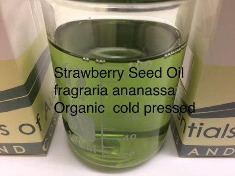 Strawberry Seed Oil organic cold pressed