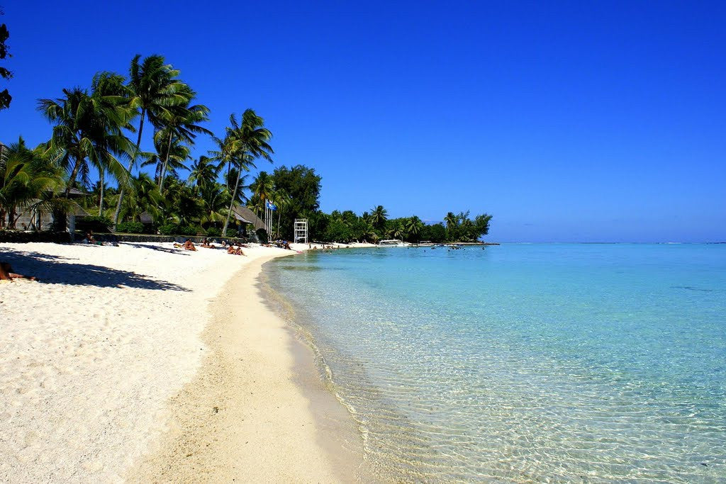 Top 10 of the most beautiful beaches in the world elly la matira is perhaps the most famous of tahitis beaches and for good reason the mile long stretch of silky powder white sand slopes gently into a shallow sciox Image collections