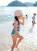 kids girls baby uv swimwear