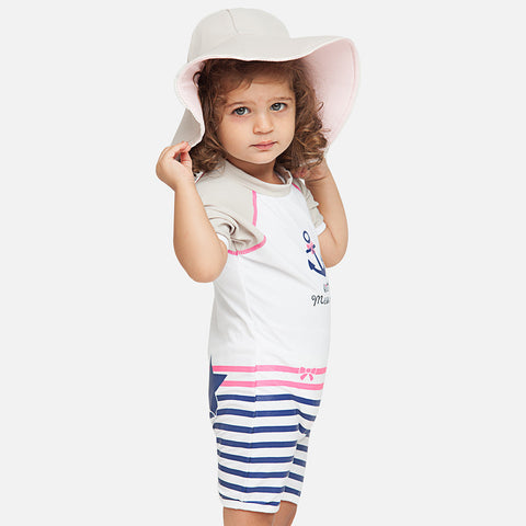 Girls St Tropez Reversible UV Hat