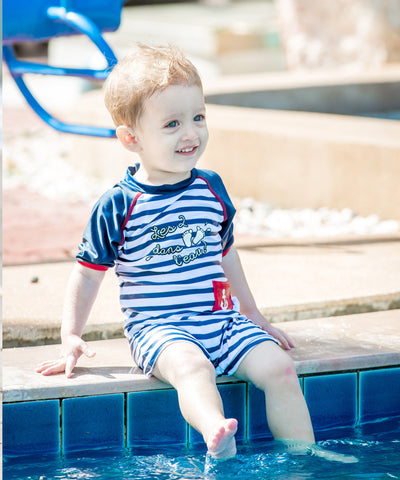 Boys Deauville UV Sunsuit