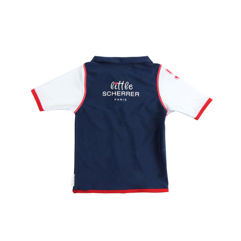 Boys JLS Polo Club UV Rash Vest