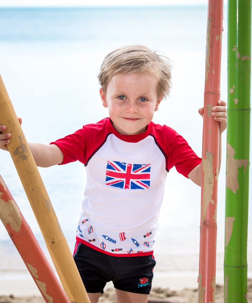 Boys I Love London UV Rash Vest