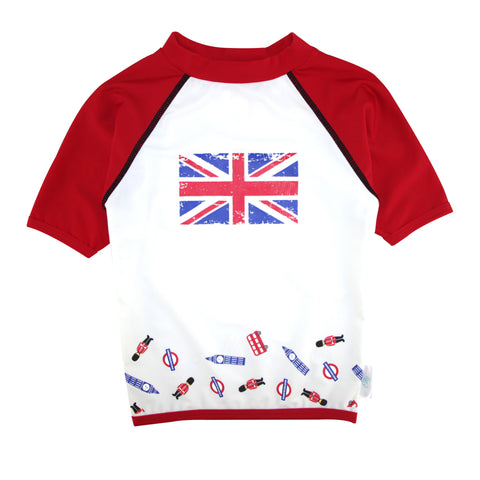 Boys Set - I love London  UV Rash Vest + Swim Short