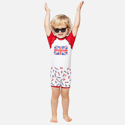 Boys I Love London UV Sunsuit