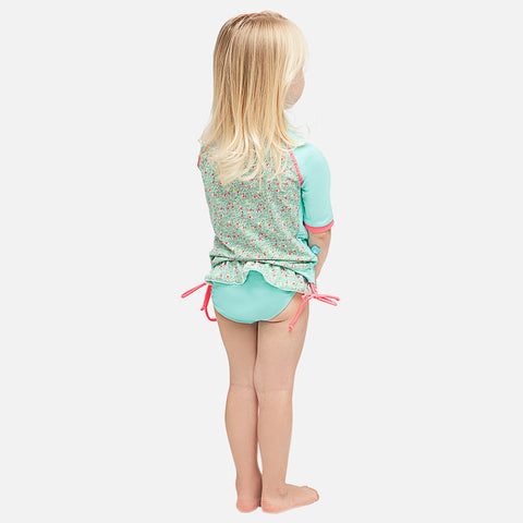 Girls Jardin Secret UV Ruffle Bikini Bottom
