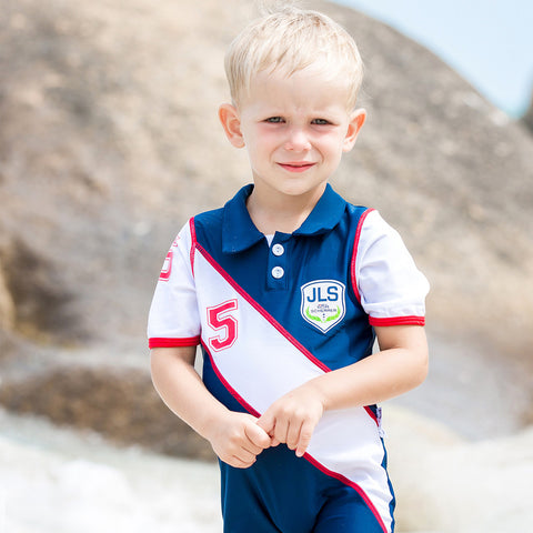 Boys JLS Polo Club UV Sunsuit