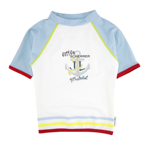 Boys Set - Little Matelot UV Rash Vest + Swim Short