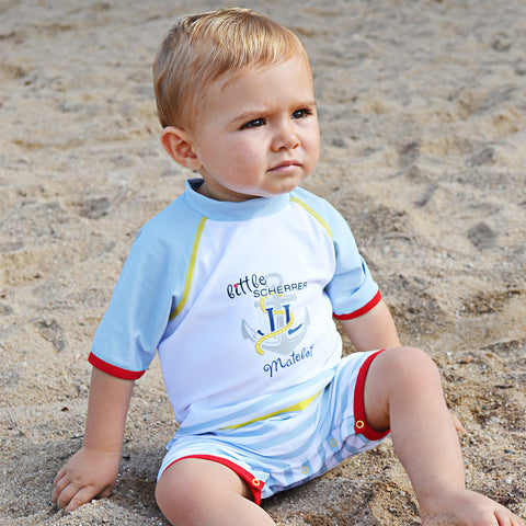 Boys Little Matelot UV Sunsuit
